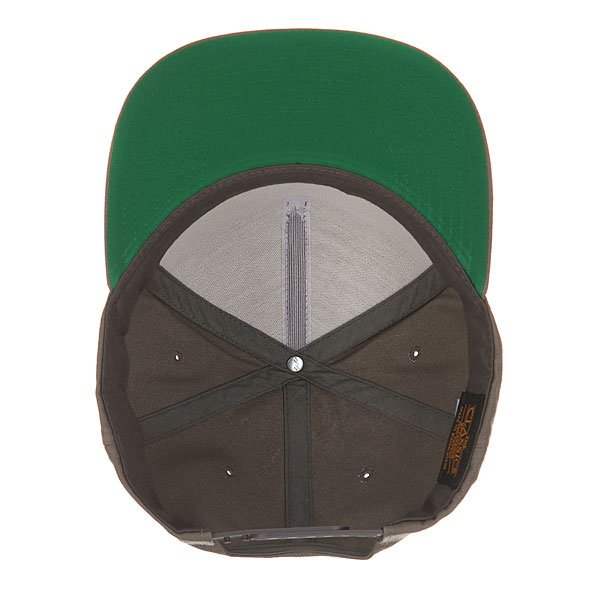 Бейсболка с прямым козырьком Flexfit 6007 Grey