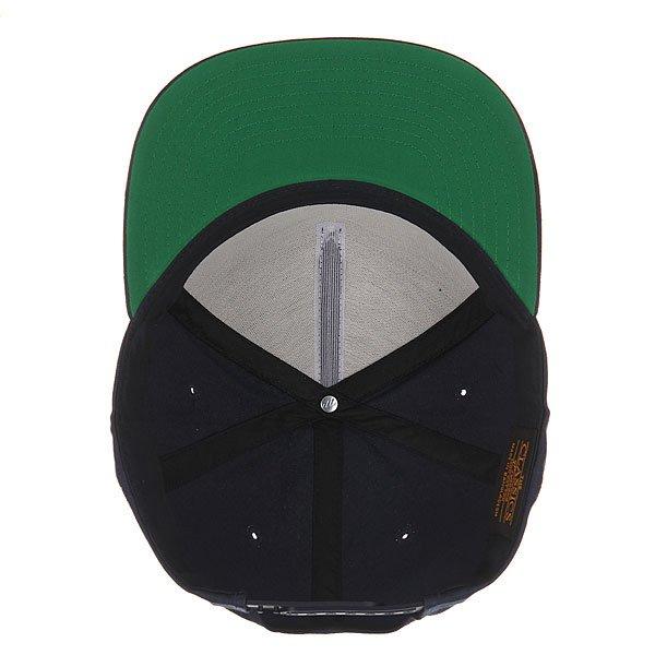 Бейсболка с прямым козырьком Flexfit 6007 Navy