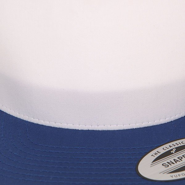Бейсболка с сеткой Flexfit 6005FW Royal/White