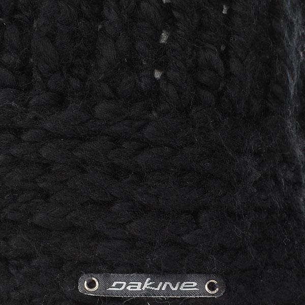 Шапка ушанка женская Dakine Veruca Black