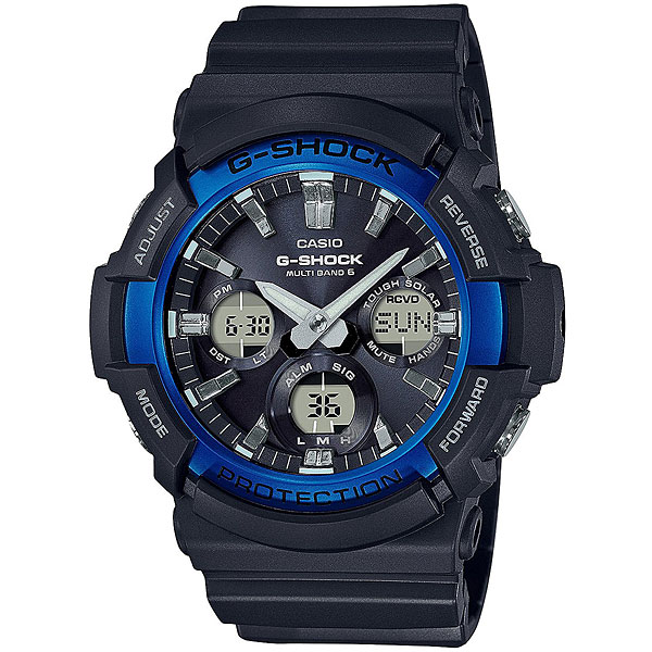 Электронные часы Casio G-Shock Gaw-100b-1a2 Black/Blue