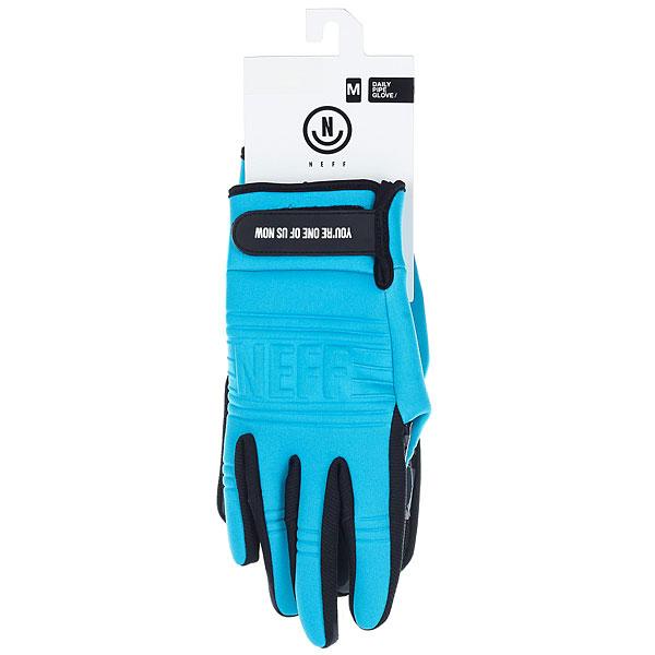 Перчатки сноубордические Neff Daily Pipe Glove Cyan