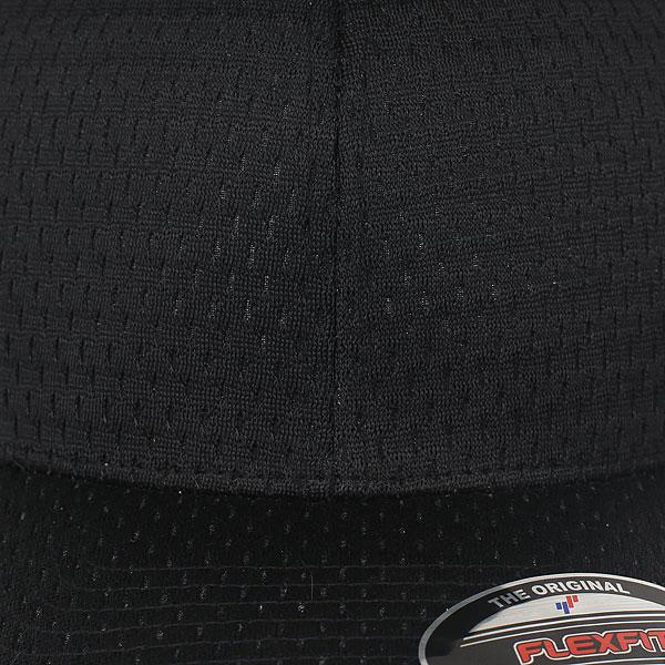 Бейсболка классическая Neff Flexfit/Yupoong True Black