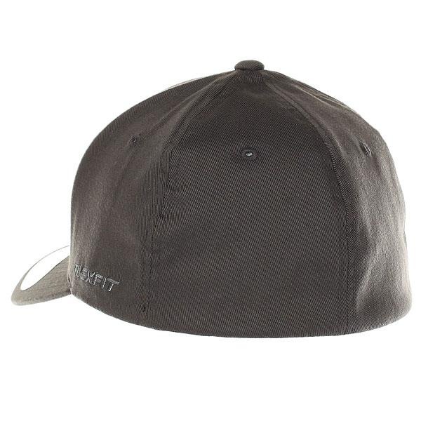 Бейсболка классическая Neff Flexfit/Yupoong Dark Grey