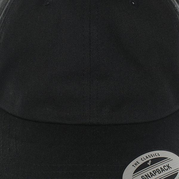 Бейсболка классическая Flexfit/Yupoong Black