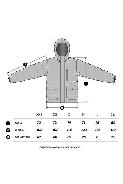 Куртка зимняя Footwork Feelmore Dark Navy