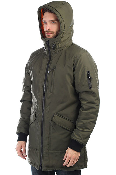 Куртка парка Footwork Dealer Army