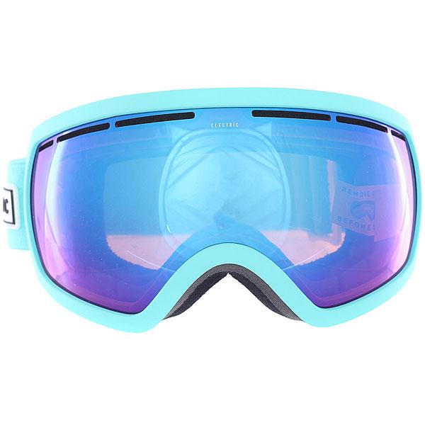 Маска для сноуборда Electric Eg2.5 Turquoise/Pink Palms/Brose/Blue Chrome