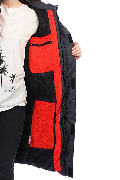 Куртка парка женская Запорожец Telogreika Black