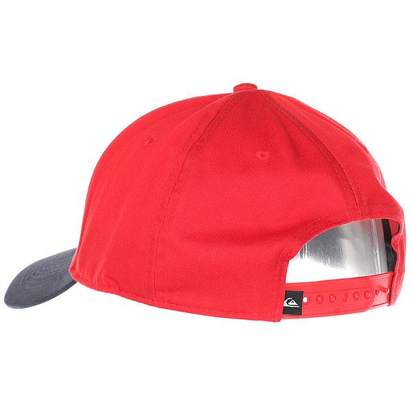 Бейсболка классическая Quiksilver Decades Rio Red