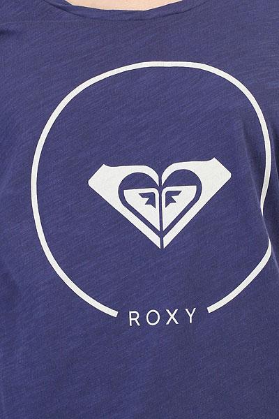Футболка женская Roxy Bobby Twist Ess Deep Cobalt