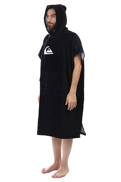 Пончо Quiksilver Hoody Towel Black