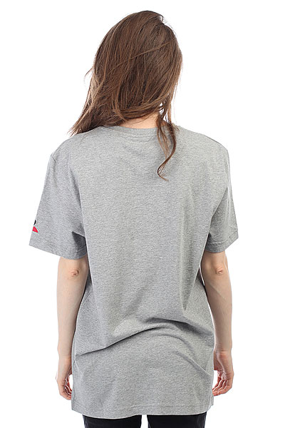 Футболка женская Le Coq Sportif Fanwear Tee №5 Light Heather