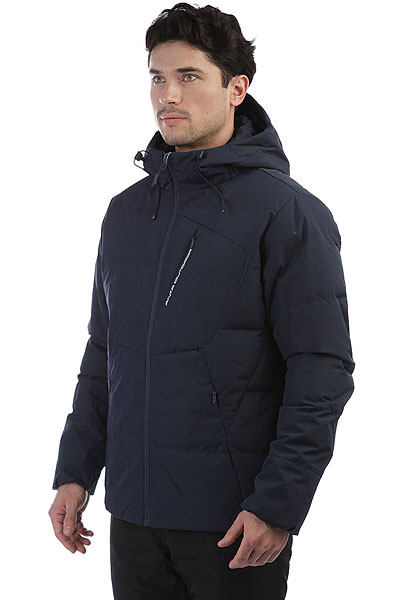 Куртка Пуховая Синий Anta Черная 85746957-1