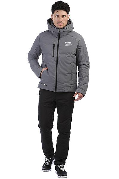 Куртка Софт-Шелл С Пуховой Жилеткой  Anta Серая