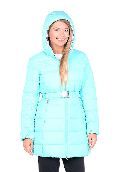 Куртка Пуховая женская Anta Голубая 86638971-3