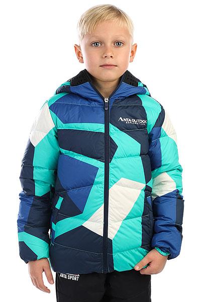 Пуховик детский Anta Синий W35746914-2