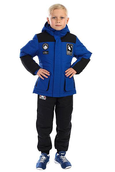 Пуховик детский Anta Темно-синий W35746915-3
