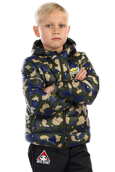 Пуховик детский Anta Зеленый W35749941-2