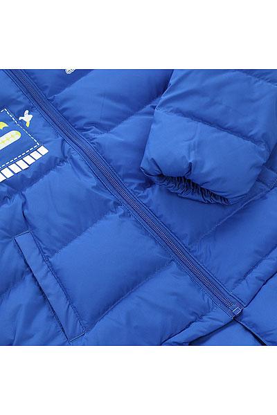 Пуховик детский Anta Синий W35749970-1