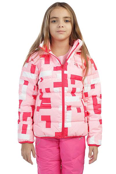 Пуховик детская Anta Розовая W36748944-2