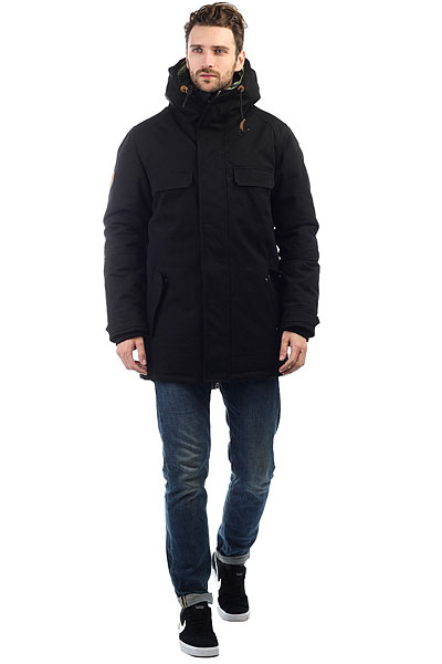 Куртка парка Запорожец Triodin Black