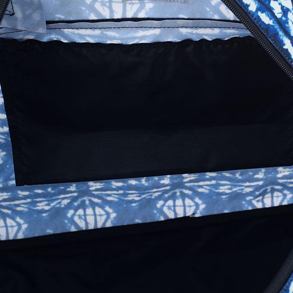 Сумка спортивная женская Roxy Too Far Lugg Dress Blues Geometri