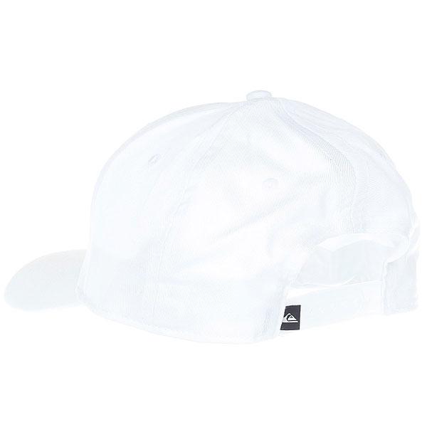 Бейсболка классическая Quiksilver Decades White