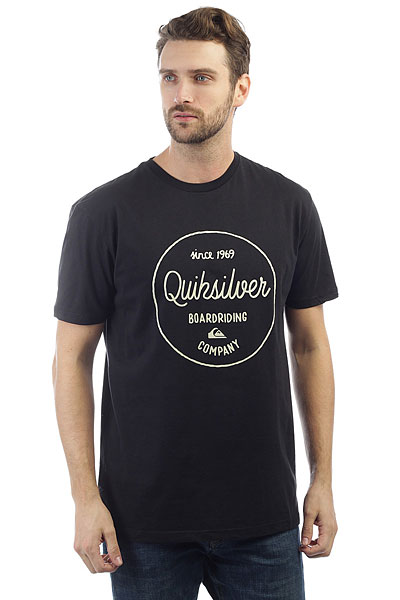 Футболка Quiksilver Clmornslides Black