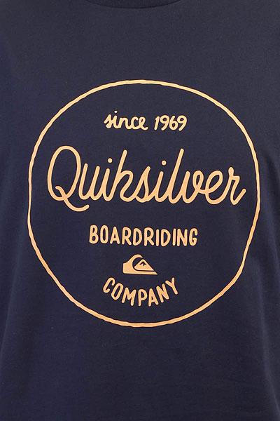 Футболка Quiksilver Clmornslides Navy Blazer