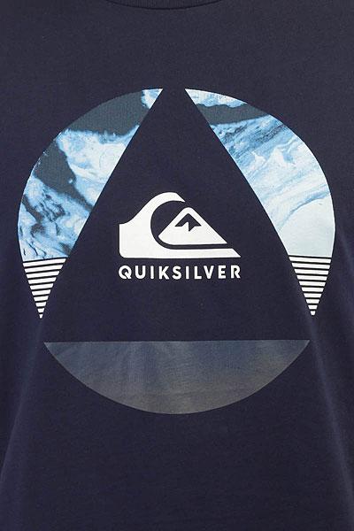 Футболка Quiksilver Ssclafluidt Navy Blazer