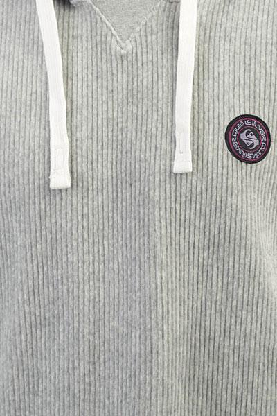 Толстовка классическая Quiksilver Diamondtail Light Grey Heather