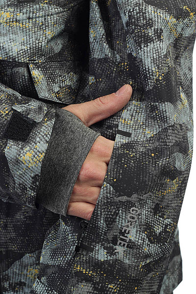 Куртка утепленная Quiksilver Bla Alder Pr Anicamo