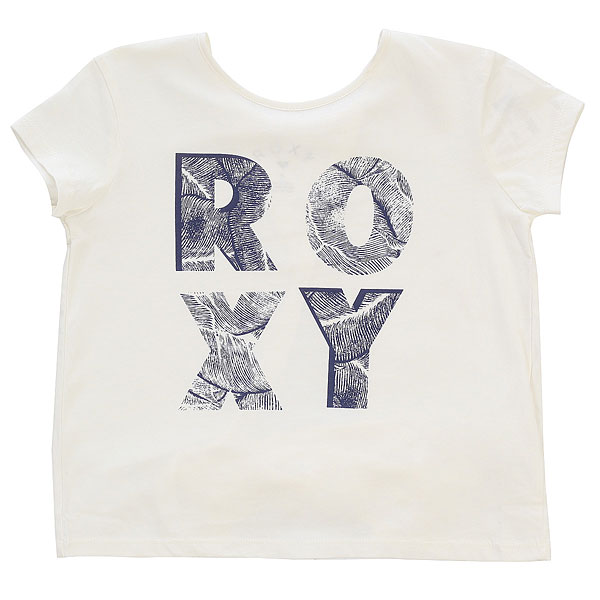 Футболка детская Roxy Sunshineleaves Marshmallow