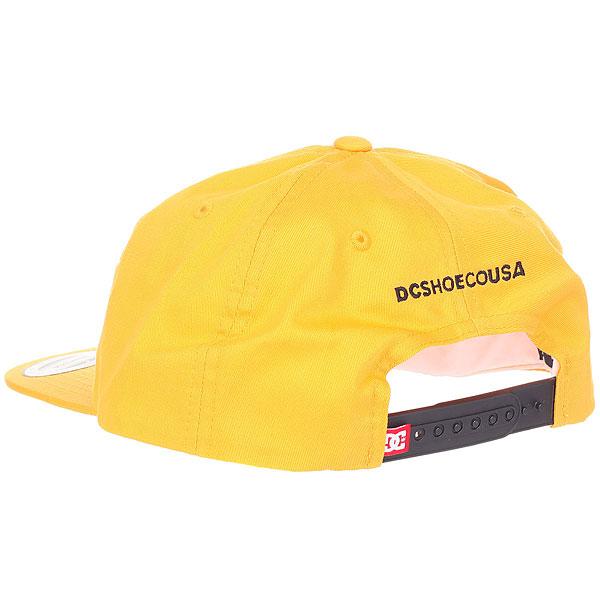 Бейсболка с прямым козырьком DC Core Twill Cap Old Gold