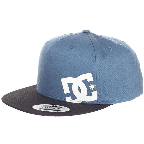 Бейсболка с прямым козырьком DC Heard Ya 2 Blue Mirage