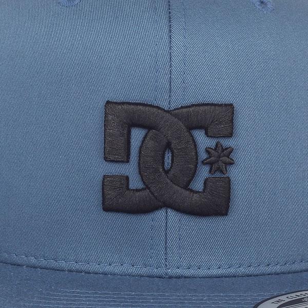 Бейсболка с прямым козырьком DC Snappy Blue Mirage