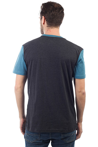Футболка Quiksilver Baysicpocket Dark Grey Heather