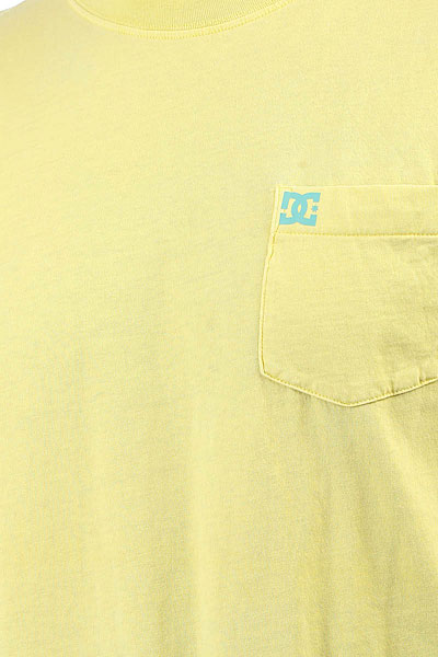 Футболка DC Dyed Pocket Cre Lemon