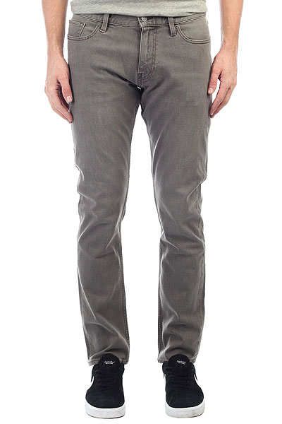 Джинсы прямые DC Worker Straight Light Grey