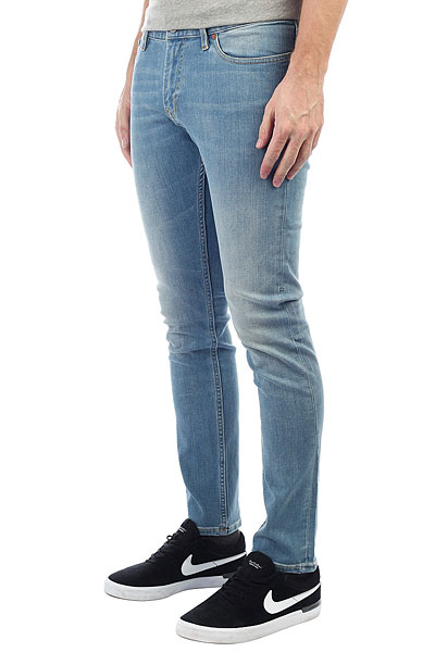 Джинсы узкие DC Worker Slim Slb Light Indigo Bleach