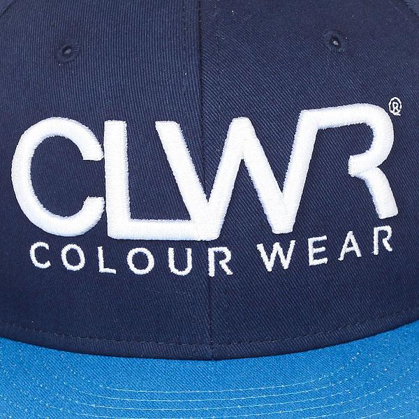 Бейсболка с прямым козырьком CLWR Clwr Midnight Blue
