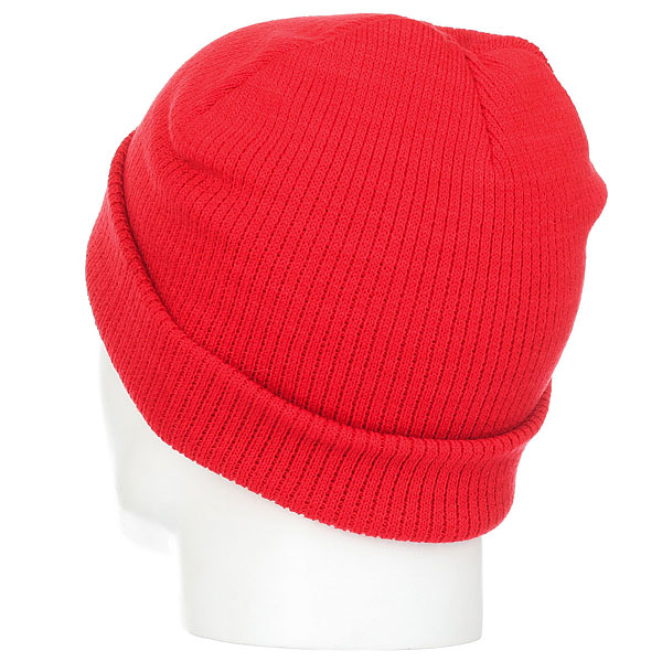 Шапка носок WearColour Rib Beanie Red