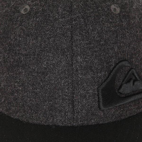 Бейсболка классическая детская Quiksilver Final Dark Grey Heather