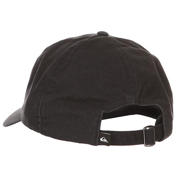 Бейсболка классическая Quiksilver Papa Cap Black