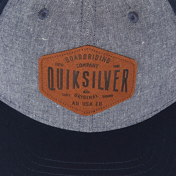 Бейсболка классическая Quiksilver Sleater Vine Navy Blazer