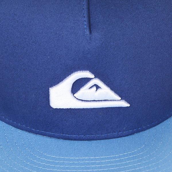Бейсболка с прямым козырьком детская Quiksilver Stuckles Snap Bright Cobalt