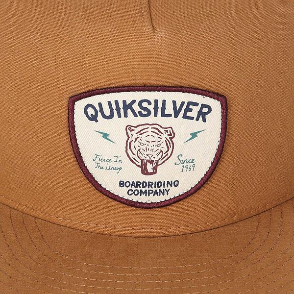 Бейсболка с прямым козырьком Quiksilver Smorgasborg Wood Thrush