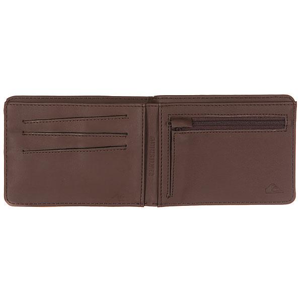 Кошелек Quiksilver Slimvintage Tan Leather
