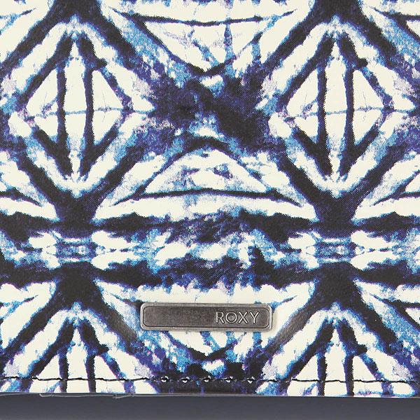 Кошелек женский Roxy My Long Eyes Dress Blues Geometri